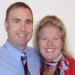Dr Steve Chiropractor and wife Melissa at their Redcliffe practice
