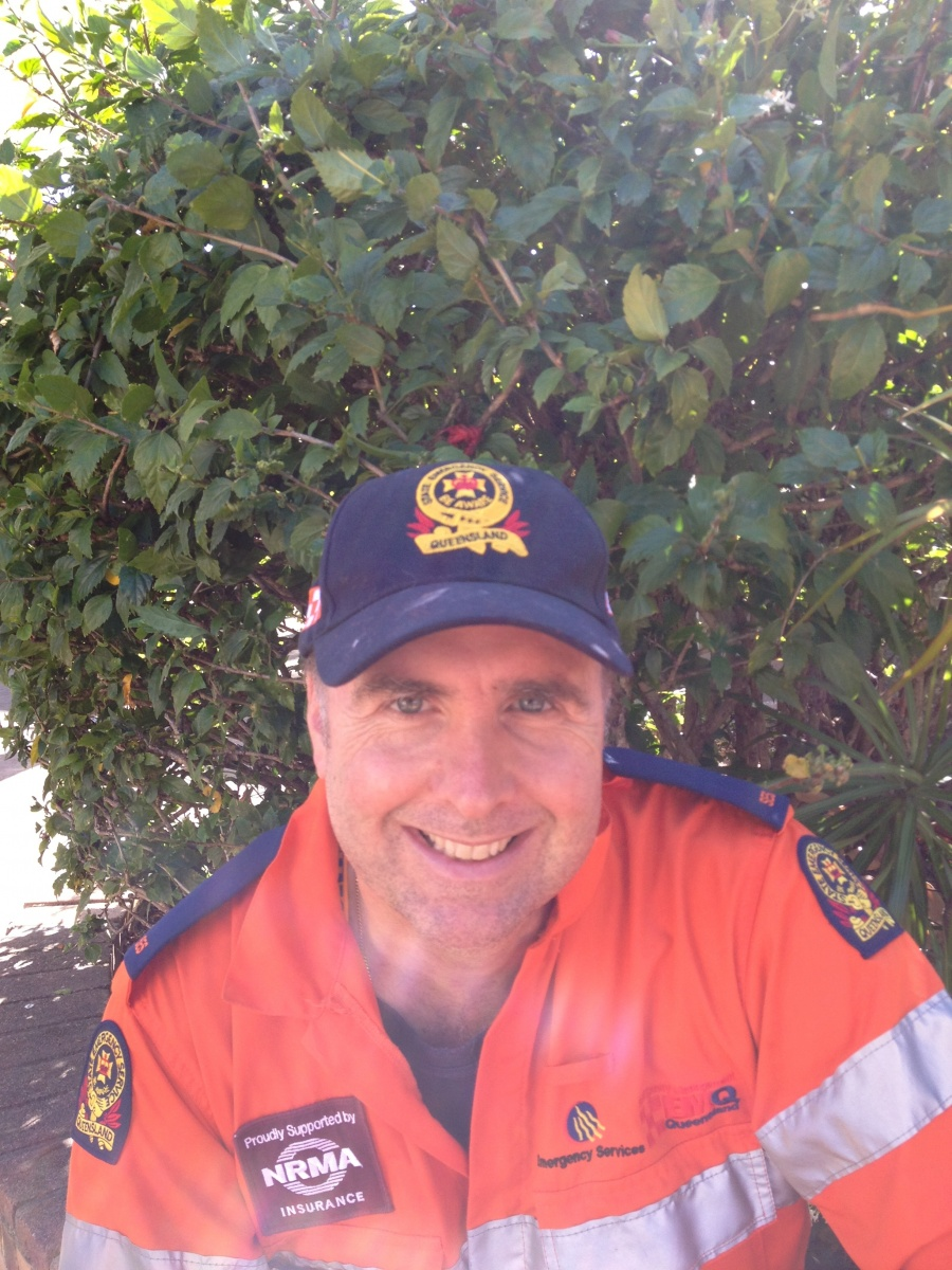 Dr Steve is a volunteer for the SES.